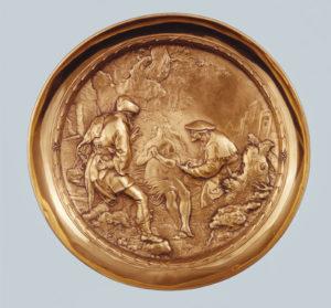 Tazza, Paulus Willemsz. van Vianen, 1612 Museum Boijmans Van Beuningen, Rotterdam (inv. no. M.B.Z 196)